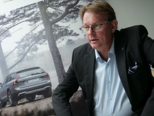 Volvoのセーフティ・センターでディレクターを務めるJan Ivarsson氏