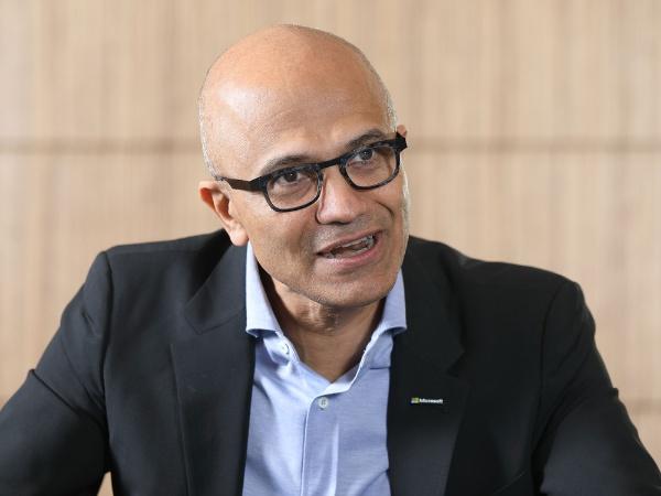 米マイクロソフト CEO サティア・ナデラ氏