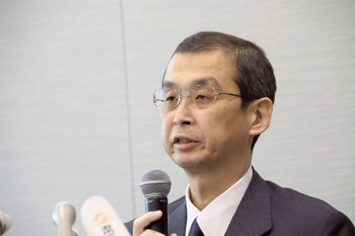 タカタ会長兼社長の高田重久氏