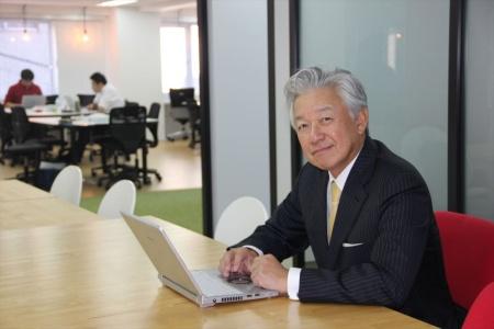 インテグラル代表取締役パートナーで、スカイマーク代表取締役会長も務める佐山展生氏