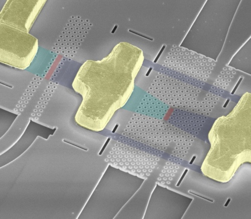 NTTが開発した光電融合デバイス