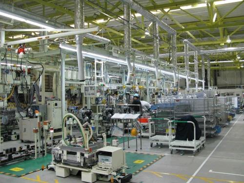 エンジン工場の例