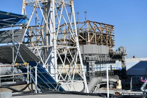福島第一原子力発電所1号機。(写真:渡邊照明)