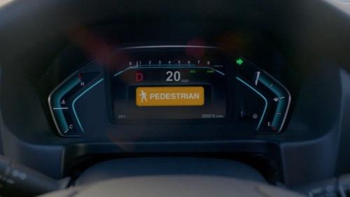 図2 運転者に対する警告メッセージの表示