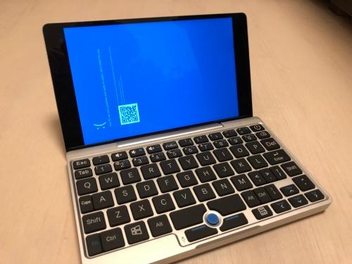 ブルースクリーンしか表示されなくなったGPD Pocket