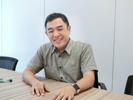 ソフトバンクロボティクスのコンテンツマーケティング本部長兼Pepper事業本部長の蓮実一隆取締役