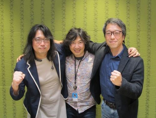 左から川口恭伸氏、牛尾剛氏、鈴木逸平氏