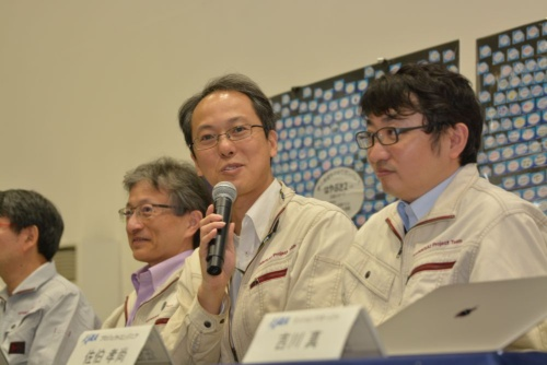 図1 はやぶさ2プロジェクトチームプロジェクトマネージャの津田雄一氏