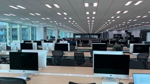 42 Tokyoの教室。42は世界中で運営されているエンジニア養成校だ