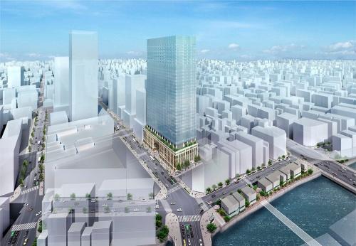 日本橋室町1丁目地区再開発