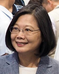 台湾総統の蔡英文氏(写真提供:猪飼 二郎)
