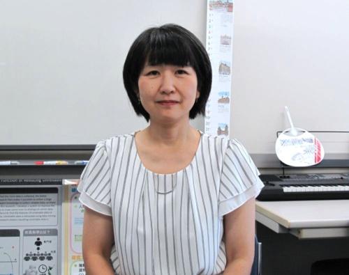 東京都市大学メディア情報学部情報システム学科の大谷紀子教授
