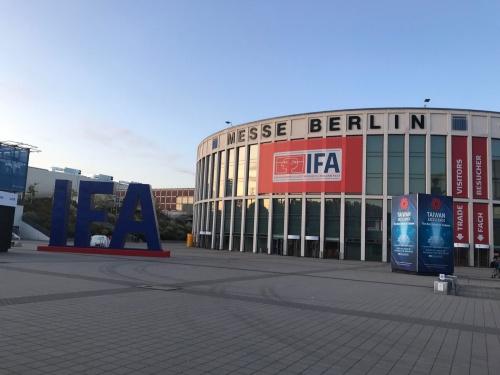 「IFA 2019」はドイツの首都ベルリンにある展示会場メッセ・ベルリンで開催(9月6~11日)された。床面積は東京ビッグサイトの5倍以上と巨大