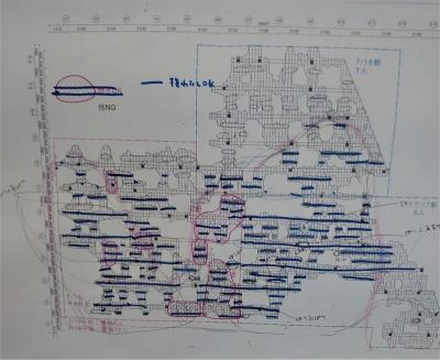 焼きスギ屋根の図面(写真:日経クロステック)