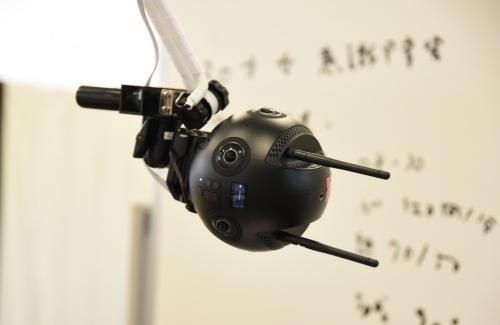 図3 中国Shenzhen Arashi Vision(シンセン・アラシ・ビジョン)の「Insta360 Pro2」