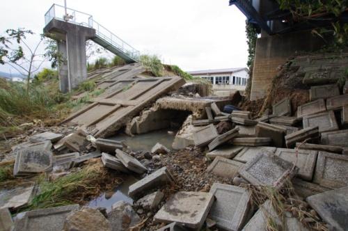 台風19号がもたらした記録的な大雨で、阿武隈川や千曲川など多くの河川が氾濫した。大雨の影響で堤防が決壊した河川も多い(写真:日経 xTECH)