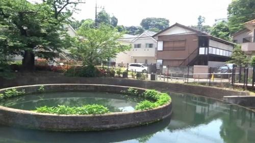 農業用水施設「久地円筒分水」