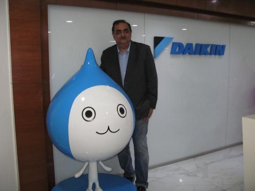 ダイキンエアコンディショニングインド社取締役社長のKanwal Jeet Jawa氏