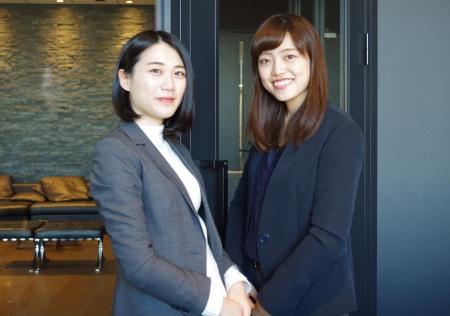 レバテック ITリクルーティング事業部 リクルーティングアドバイザーグループの西瑶子氏(左)と同部キャリアアドバイザーグループの須田茉衣子氏