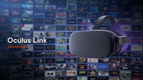 スタンドアローンVR用HMDがPC接続型に早変わりする「Oculus Link」