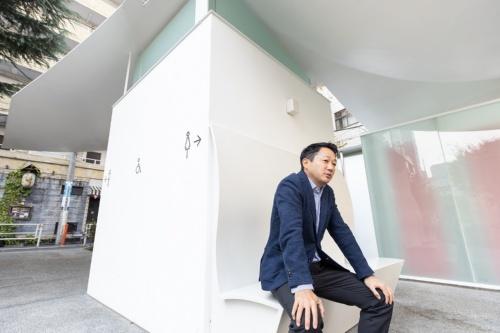 日本財団の笹川順平常務理事。「THE TOKYO TOILET」の旗振り役だ(写真:北山 宏一)