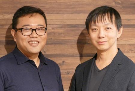 日本CTO協会の広木大地理事(左)と松岡剛志代表理事