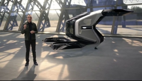 GMが見せたeVTOL機のコンセプト