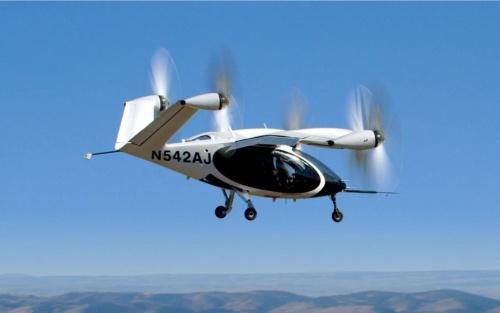 カリフォルニア州で飛行するJobyの機体