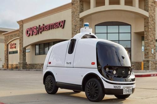 Nuroの無人小型EV「R2」
