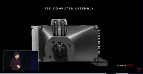 車載コンピューター「FSD」