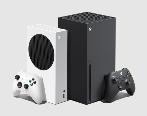 左が「Xbox Series S」、右が「Xbox Series X」