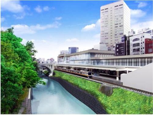 御茶ノ水駅改良工事の完成イメージ(出所:JR東日本)