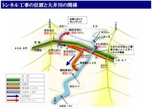 ■静岡県が事前に推定を交えて作成した現場の位置関係の図