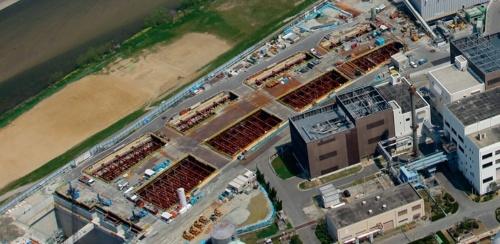 阪神高速大和川線で訴訟の対象となった開削区間の施工時の様子(写真:大阪府)