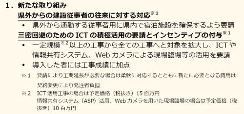 新型コロナウイルス対策の新たな取り組み(資料:和歌山県)