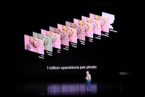写真を撮影するたびに1兆回の機械学習処理を実施