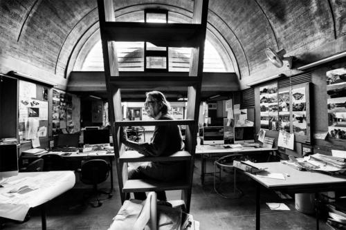 2018年プリツカー建築賞を受賞したインドの建築家バルクリシュナ・ドーシ氏。1927年生まれ(写真:VSF)