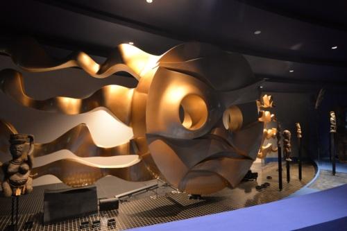 増築した展示スペースに「地底の太陽」が復活した(撮影:菅原 由依子)