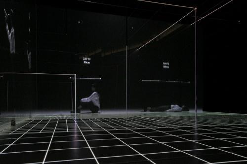 ライゾマティクスの一部門であるライゾマティクス・アーキテクチャーは、六本木ヒルズ・森美術館15周年記念展「建築の日本展:その遺伝子のもたらすもの」に、様々な建築空間のスケールを実寸で体験できるインスタレーション「パワー・オブ・スケール(Power of Scale)」を出展。歴史的建造物や普段は立ち入ることのできない建物の一部をはじめ、身の回りの空間を映像とレーザーファイバーによって出現させる作品。会期は4月25日から9月17日まで