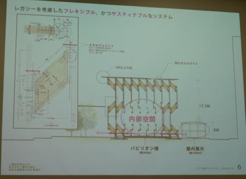 CLTを構造梁の一部として利用(写真:日経アーキテクチュア)