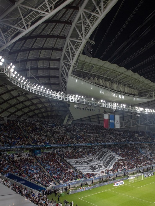 19年5月16日に開かれた決勝戦で、盛り上がる観客席の様子(写真:Luke Hayes)