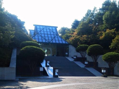 MIHO MUSEUMのエントランス(写真:木村 駿)