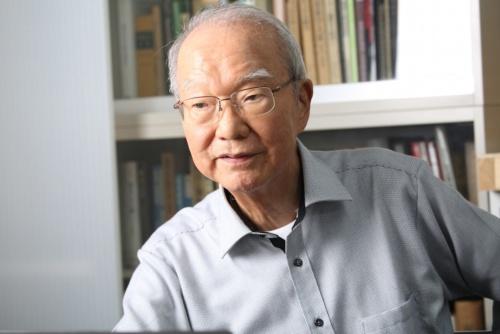 2019年5月29日、病気のため死去した川口衞(まもる)氏。写真は17年に撮影。技術と造形の融合を追求する姿勢は後進の手本ともなった(写真:花井 智子)