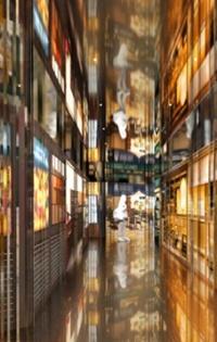 地下1階にあるメインレストランフロア「CHAOS KITCHEN」の環境デザインは、建築家の藤本壮介氏が担当(資料:Sou Fujimoto Architects)