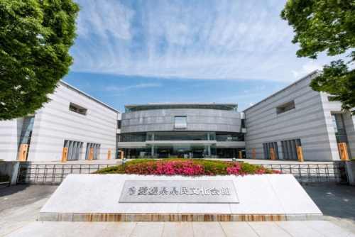 愛媛県県民文化会館の外観(写真:愛媛県文化振興財団)