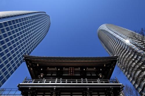 東京都港区で2001年に完成した「愛宕グリーンヒルズ」(写真:黒住 直臣)