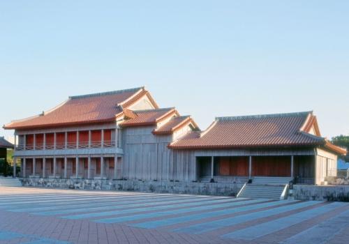 火災で全焼した首里城の南殿(写真:国営沖縄記念公園(首里城公園))