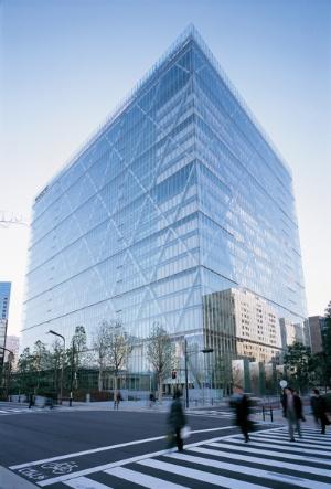 2006年10月に竣工した「Sony City」(写真:柳生 貴也、細谷 陽二郎)