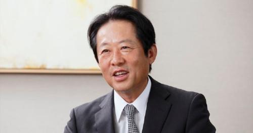プランテックグループの創業者、大江匡氏。2019年1月31日に死去した(写真:山田 愼二)