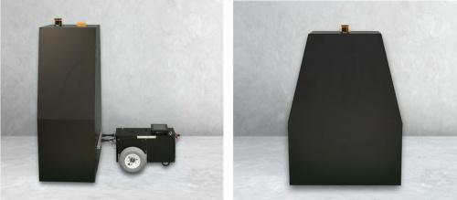 自律走行式ひび割れ検査ロボット(資料:安藤ハザマ)